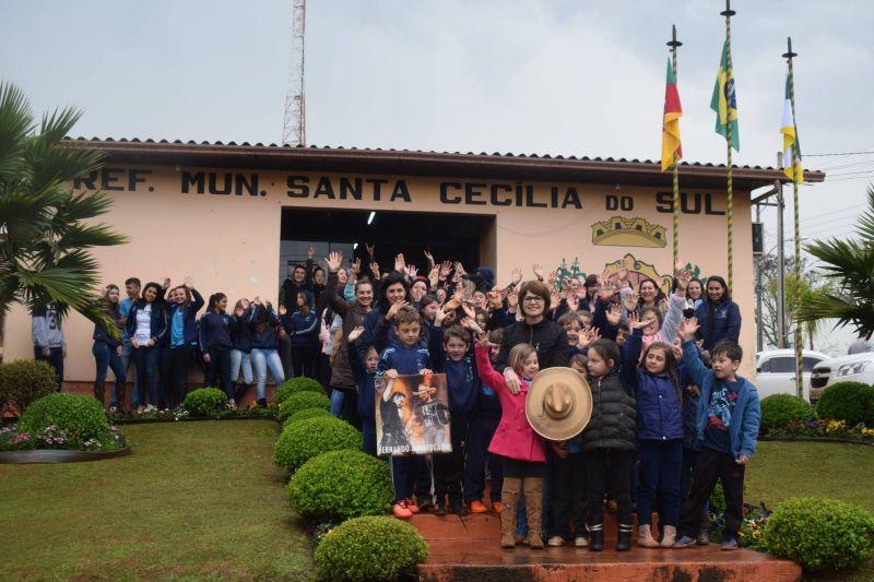 Santa Cecília do Sul Rio Grande do Sul fonte: santaceciliadosul.rs.gov.br
